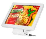 디지털 Signage 대화식 Touchscreen 모니터 간이 건축물을 서 있는 12.1 인치 LCD 지면