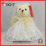 Urso da peluche do urso ASTM da peluche do casamento do urso da peluche En71