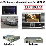 Поверхность стыка автомобиля видео- на Mmi 2017 A4 Q7, Android задий навигации и Audi 4G панорама 360 опционное