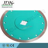 Маленький суровый алмазный пильный диск для резки гранита и мрамора