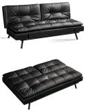 Классический PU или ткань диваном-кроватью с металлической рамой