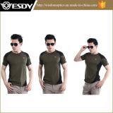 Magliette militari esterne del poliestere delle magliette di nuovo stile