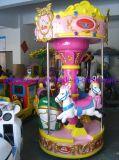 Merry-Go-Round variopinto e bello di giro del Kiddie per il parco di divertimenti
