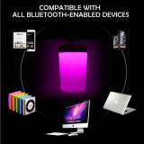 Диктор 2017 самый новый портативный цветастый СИД светлый миниый беспроволочный водоустойчивый Bluetooth для аудиоплейера