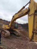 Excavador japonés usado muy bueno KOMATSU PC400-7 (material de la correa eslabonada hidráulica de las condiciones de trabajo de construcción) para la venta