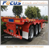 De op zwaar werk berekende Semi Aanhangwagens van de Container van de Lading van de Vrachtwagen van de Tractor voor Vervoer