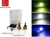 Jefe de la lámpara del faro Kit de faros LED H1 Kit de conversión automática LED