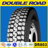 도매 두 배 도로는 12r22.5 광선 트럭 타이어 TBR 타이어 골프 카트 타이어 13r22.5 Dr825를 Tyres