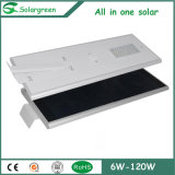 5W~80W 3 лет гарантии интегрированного светодиодный индикатор на улице солнечной энергии