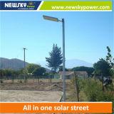 太陽動力を与えられたスマートなAPP制御太陽街灯18W-120W