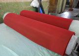 Strato rosso e arancione della gomma di gomma di colore, rivestimento della gomma naturale con la superficie della sabbia