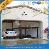 Type à la maison système de ciseaux de niveau de double de garage de levage de stationnement de véhicule