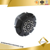 Ancla del acoplador de Multiholes de la alta calidad para el filamento de la PC 15.24