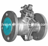 2PC roestvrij staal Flanged Ball Valve (Q41F-16P)