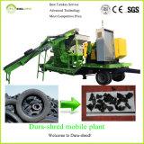 Taglio residuo della gomma usato acciaio di Bao e macchina di riciclaggio da vendere