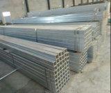 La Plaza de materiales de construcción de acero galvanizado en caliente tubo/tubo de acero soldado