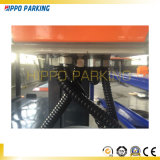 Estacionamiento hidráulico mecánico de dos pisos de cuatro postes