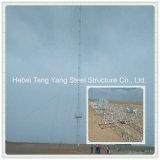 Гальванизированная сталью башня решетки телекоммуникаций антенны рангоута Guyed