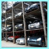 Speed Smart Lift Four Post Quad Système de stockage de stationnement de voiture
