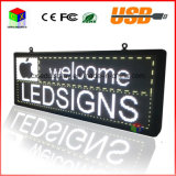 LED P5 RGB Full Color Entra / Display 15''x40 '' / supporta lo scorrimento del testo sullo schermo a LED pubblicità immagine video programmabile a LED per esterni