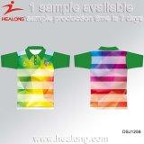 Рубашка пола клуба футбола сублимации Sportswear Healong самая лучшая продавая