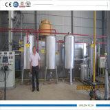 Tipo de filtro de aceite de la refinería de petróleo del buque de residuos la Planta 10tpd