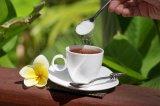 コーヒー、食糧および飲み物への低カロリーのテーブルの上のStevia