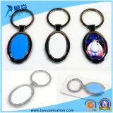 Anello chiave di promozione del ricordo di marchio del metallo su ordinazione del regalo