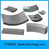 Высокий работая магнит SmCo формы дуги кобальта самария температуры для мотора