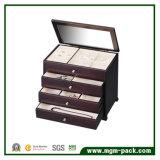Haute qualité promotionnelle Grand coffret à bijoux en bois