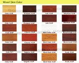 Portello naturale di legno solido della quercia della vernice bianca (GSP2-074)