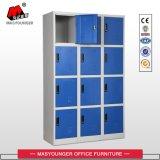Utilisation des travailleurs à bas prix 12 casier porte armoire métallique