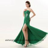 Bridesmaid одевает женщин с платьев зеленого цвета lhbim плеча шифоновых
