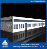 Estructura de acero del diseño profesional para el almacén de acero del edificio