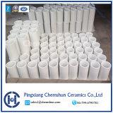Coude et tube en céramique d'alumine pour des garnitures de pipe
