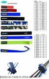 Fischerei-Gerät-Rod-Verpackung rollen 8-3 zusammen