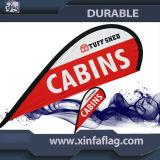 Водоустойчивая рекламируя индикация флага пляжа пера