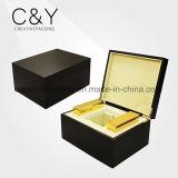 Cadre de empaquetage de parfum en bois de luxe