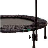 El equipo de Body building Mini trampolin con asa y cuerda de bungee