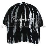 組み立てられたスクリーン印刷の刺繍のあや織りのスポーツの野球帽(TRSDB12)