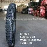 Longhua Fabrik geben direkt Motorrad-Gummireifen mit guter Qualität an (2.75-18)