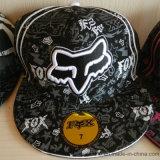 Gorra de poliéster hiphop con Emnroidery e impresión
