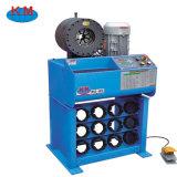中国の製造業者からの2inch油圧ホースにひだを付ける公認のセリウムの油圧ホースのひだが付く機械Km91h 6