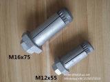 Expansión M16 fábrica de pernos de anclaje para rectangulares, cuadradas y secciones huecas Incluso Circular Longitud 120 mm