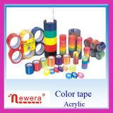 De gekleurde Douane Afgedrukte Band van de Verpakking van Colorfull BOPP van de Fabrikant van de Band Zelf Acryl Zelfklevende