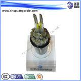 Низкий дым/низко обшитое Halogen/Al полно Screened/PVC Insulated/PVC/кабель компьютера