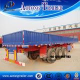 3 محور العجلة [سد ولّ] مفتوح شحن نقل [سمي] شاحنة مقطورة