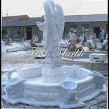 De witte Fontein van het Beeldhouwwerk van Carrara voor Ambacht mf-639