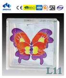 Высокое качество Jinghua художественных L-9 Окраска стекла блок/кирпича