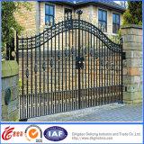 Pesada Puerta de hierro forjado jardín
